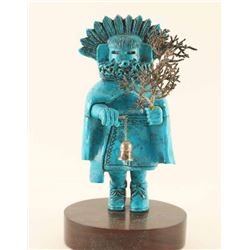 Beautiful Turquoise Kachina