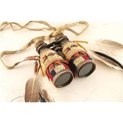Arapaho Beaded Binoculars