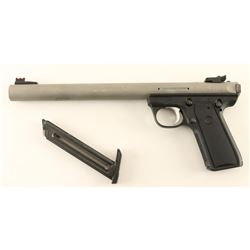 Integrally Suppressed Ruger 22/45 .22 LR