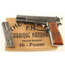 Fabrique Nationale High Power 9mm SN: 07743
