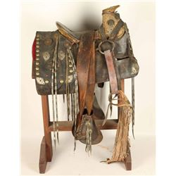 Old Mexican Big Horn Saddle