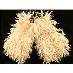 Western Angora Wooly Wool Miniature Chaps