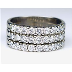 Brilliant Contemporary Diamond Band