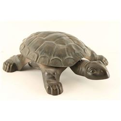 Antique Turtle Spittoon