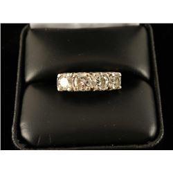 Sparkling Ladies 4 Stone Diamond Ring