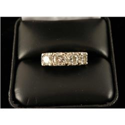 Sparkling Ladies 4 Stone Diamond Ring