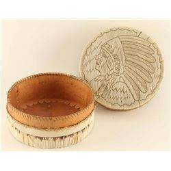 Mohawk Lidded Basket