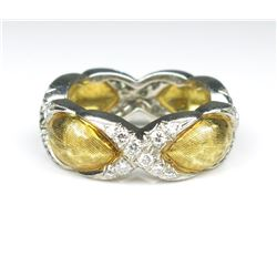 Exquisite Cartier Style Diamond Ring