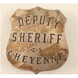 Deputy Sheriff Cheyenne WY Badge