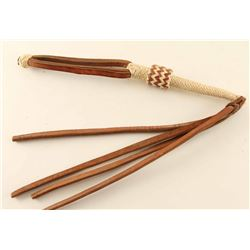 Two-Tone Rawhide Quirt