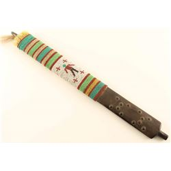Plains Indian Beaded Pipe Stem