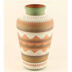 Navajo Incise Carved Vase
