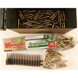 Ammo Lot of .308 in ammo can