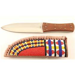 Plains Indian Beaded Sheath