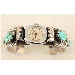 Navajo Ladies Watch Band Cuff