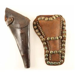 Lot of (2) Vintage Holsters