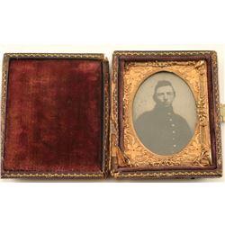 Civil War Solider Tintype