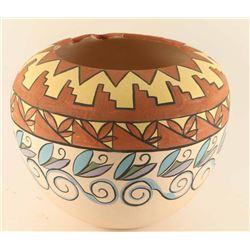 Large Polychrome Pueblo Pot