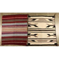 2 Saddle Blankets