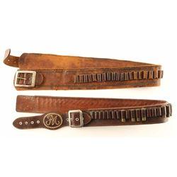 Lot of 2 Cartridge Belts