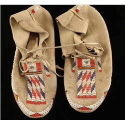Pair of Plains Indian Moccasins
