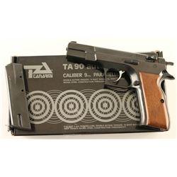 Tanfoglio TA 90 9mm SN: G00056