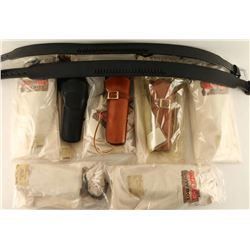 Ammo Belts & Holsters Lot