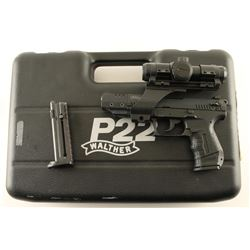 Walther P22 .22 LR SN: L058510