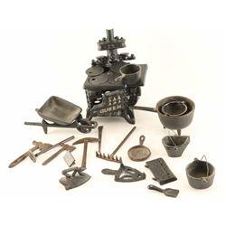 Cast Iron Toys Lot