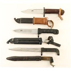 Lot of 3 AK47 bayonets