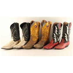 Lot of 4 Cowboy Boots