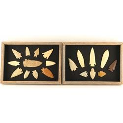 A Pair of Framed Points,