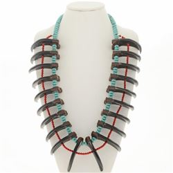 Grizzly Bear Claw Plains Indian Necklace