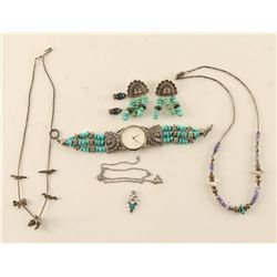 Turquoise Jewelry Lot