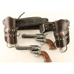 Holster Rig with Model Revolvers
