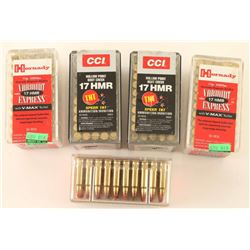 225 Rounds of 17 HMR Ammo