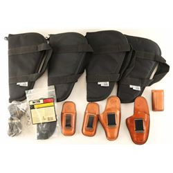 Lot of Holsters & More