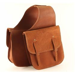 Leather Saddle Bags