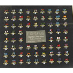 EXPO 1986 World's Fair NASA Pin Collection