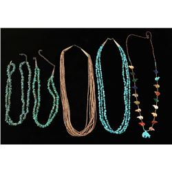 Lot of Turquoise & Beaded Necklaces