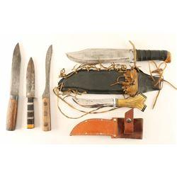 Lot of 5 Knives