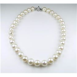 Alluring Large Pearl Necklace