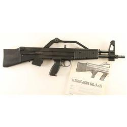 Al Gi Mec AGM 1 Carbine 9mm SN: 00127