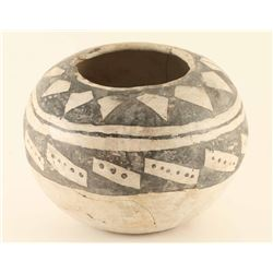 Collection of 2 Anazasi B&W Pots