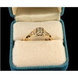Art Deco Era Diamond ring set
