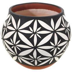 Acoma Pueblo Pottery Flower Patterns