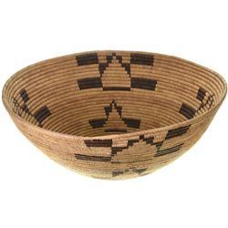 Large Vintage Indian Mission Basket