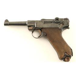DWM 1920 Commercial Luger .30 Cal SN: 8965m