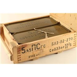 Sealed Crate of Russian Ammo