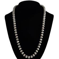 Navajo Desert Pearl Aztec Bead Necklace